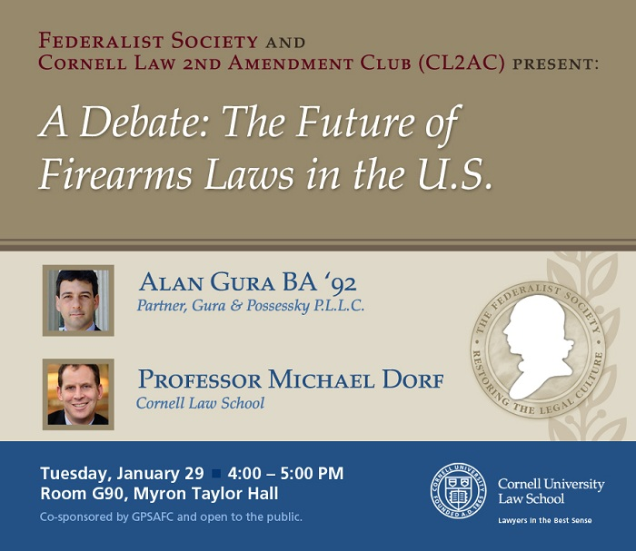 A Debate: The Future of Firearms Laws in the US